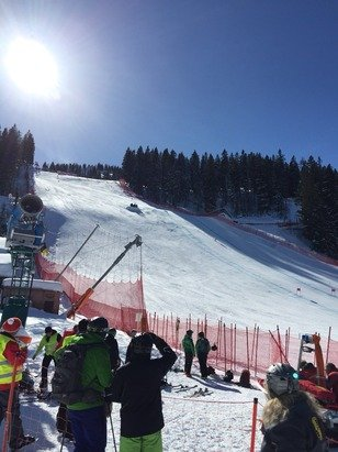Garmisch Classic-Skigebiet - Absolutely perfect spring skiing conditions this weekend.  - ©KP