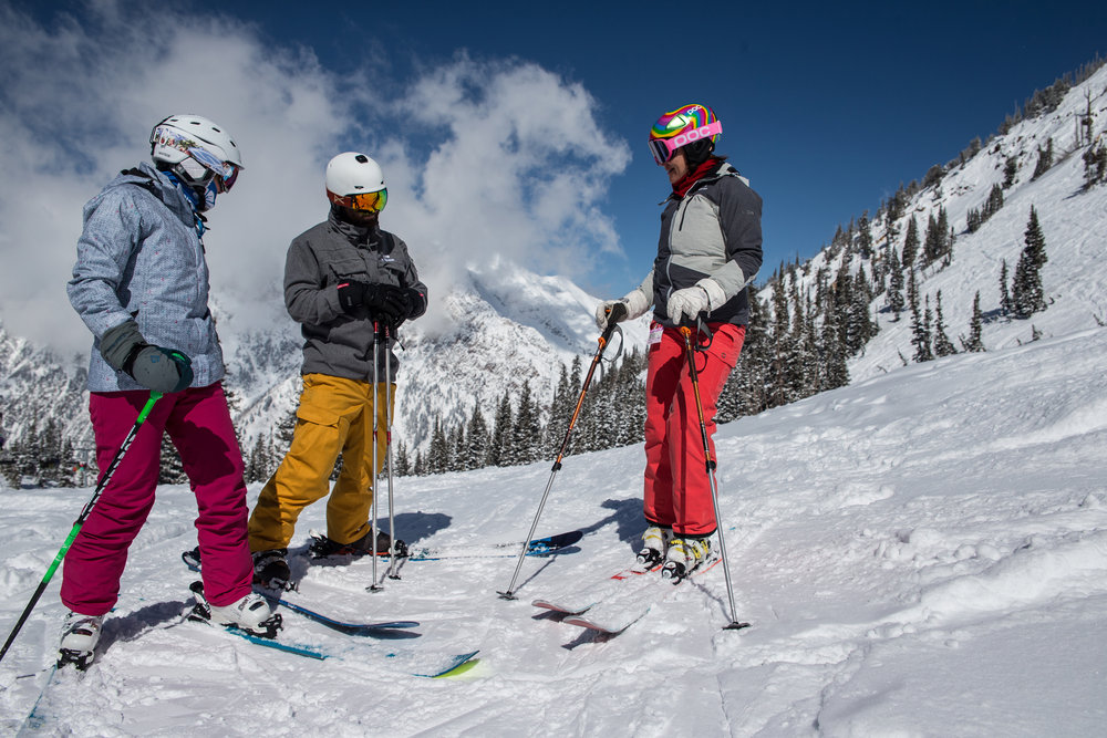 Ski Test day three: bluebird, powder, perfection. - ©Liam Doran