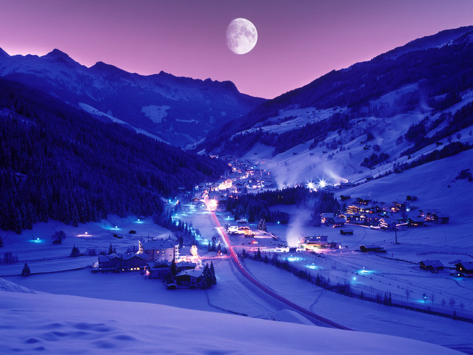 Gerlos at night - ©Zillertal Arena