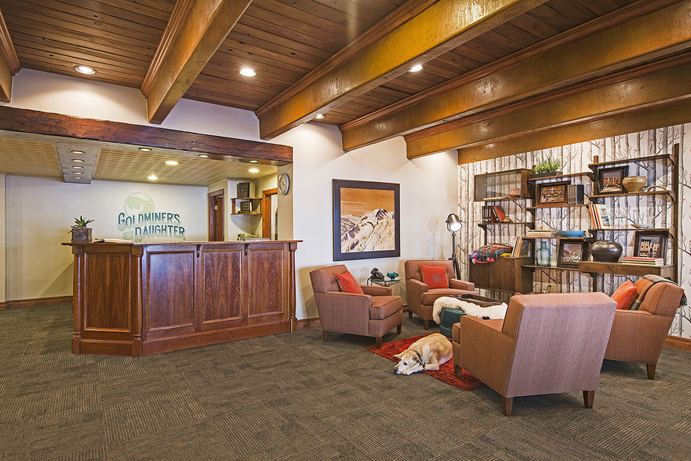 Lobby of Goldminer's Daughter at Alta Ski Resort - ©Alta Ski Area