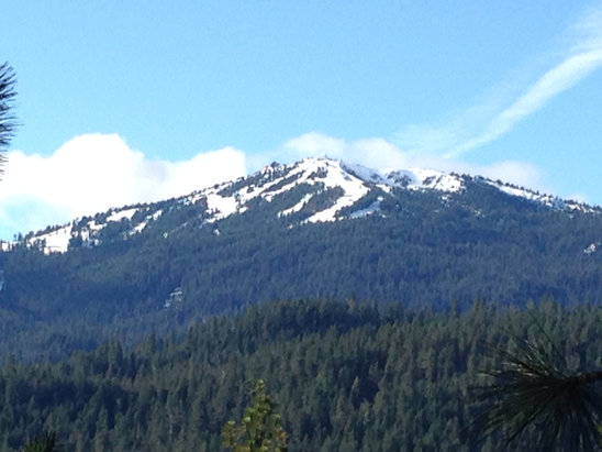 Mount Ashland - Closed on account of rain on Mar 14. Could re-open if we get a big dump! - ©PC's iPhone