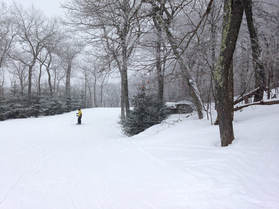 Elk Mountain Ski Resort - A great day at Elk - all trails open and Jan/Feb conditions all day with ZERO lift lines. 4-5