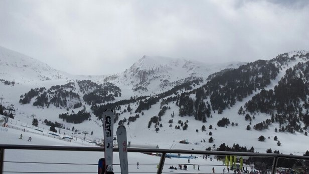 Grandvalira - Icy in patches but mainly packed... Visibility high up a little poor but still good  - ©maxyroo5