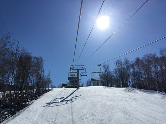 Granite Peak Ski Area - A perfect spring season at Granite !