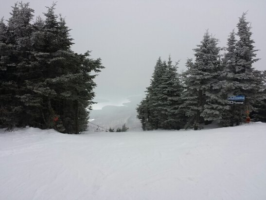Mount Snow - What a great day! The snow was fast, the tree trails are still in good shape with good coverage. Sunbrook is closed but the North Face was so sweet. Get it before it turns into slush and goes away. 4/12 closing date.
