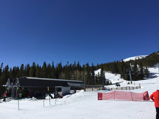 Breckenridge - No lines, snow conditions (in summit county) only 2nd to A-Basin