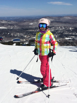 Mount Snow - Bluebird day