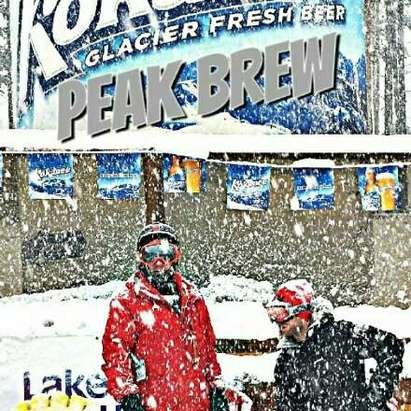 Lake Louise - Great snow what a dump for the peak brew party  - ©rorywilkowich