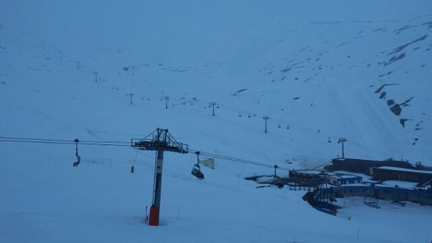 Tignes - Very good snow today !!