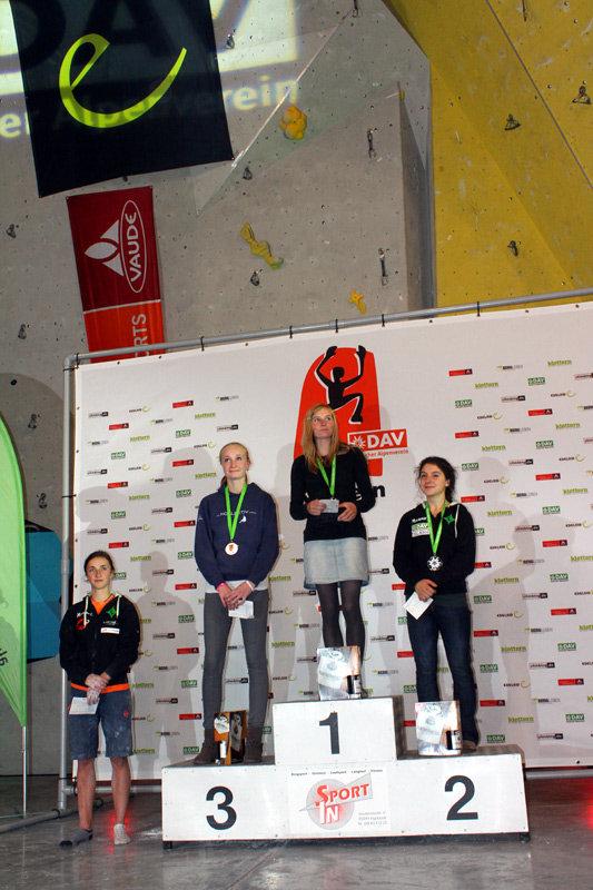Leadcup in Ingolstadt 2012: Sieger Damen - ©bergleben.de