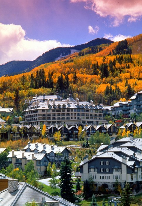Beaver Creek Village in the Fall