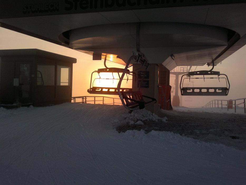 Západ slnka - ©lipocky @ Skiinfo Lounge