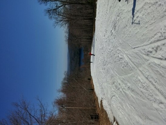 Wachusett Mountain Ski Area - Great surprise open day today at Wachusett. Doesn't get any better than skiing in May.  Thanks Wachusett for giving us one more day!