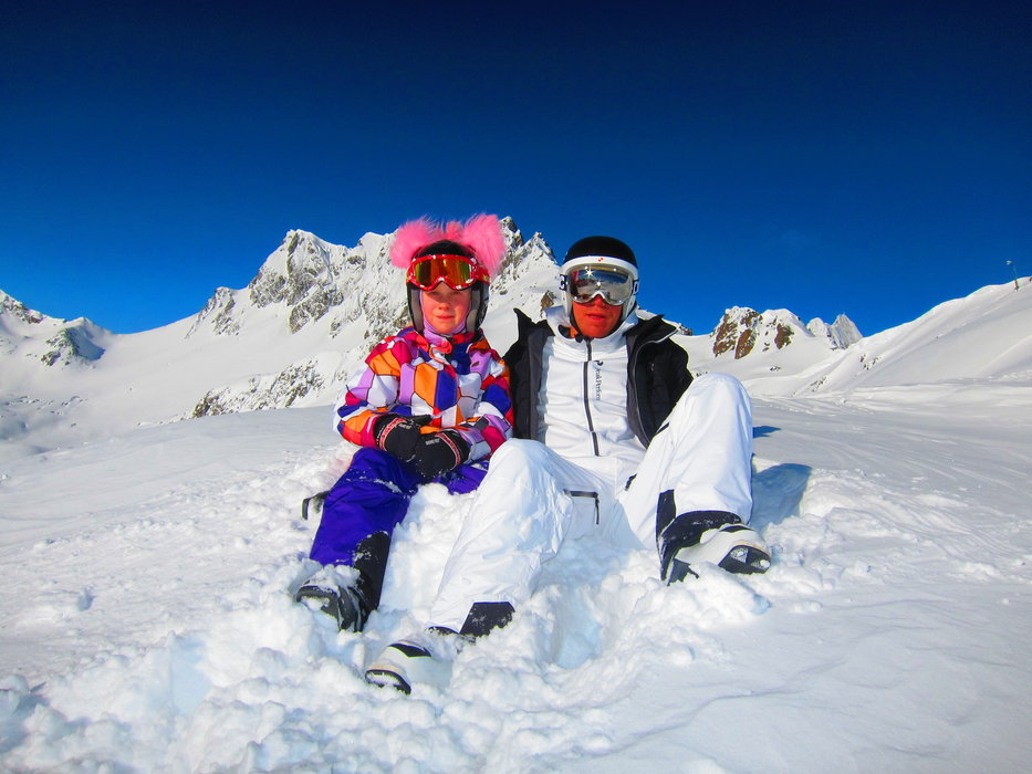 Sommar på vintern. . . | Molly och Kim Mechlenburg - ©Theodor Mechlenburg | Mechlenburg @ Skiinfo Lounge
