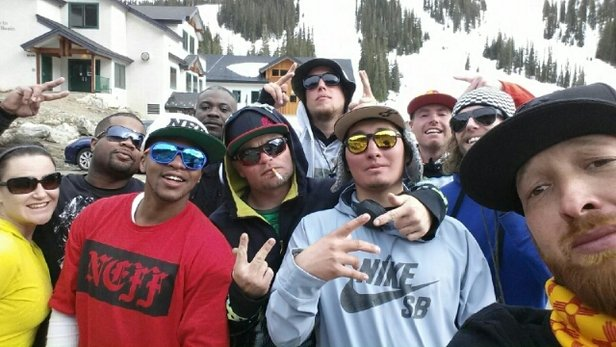 Arapahoe Basin Ski Area - The Crew! Good Times at Arapahoe Basin!