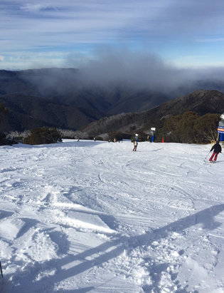 Mt. Buller - Opening weekend success ❄️ - ©Peter's phone