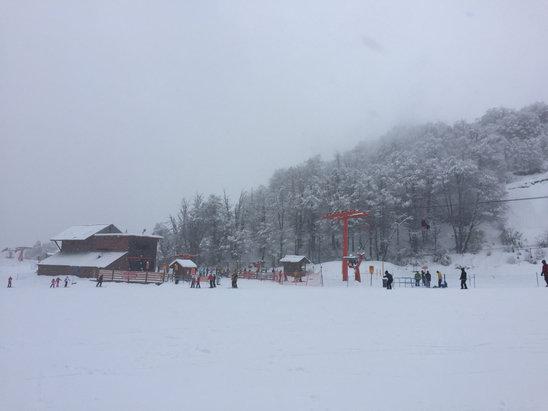Nevados de Chillan - Firsthand Ski Report - ©iPhone Santastico!