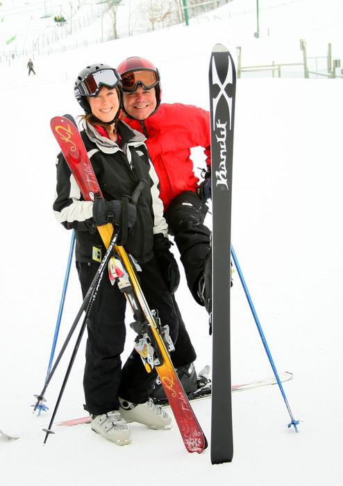 Karen and Jim at Wild Mountain, MN
