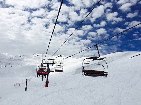 Valle Nevado - Warms up nicely in the afternoon  - ©bpike
