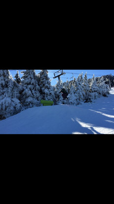 Killington Resort - Conditions were pretty solid on the 2 trails, get it while you can warmer temps and rain in the forecast - ©anonymous