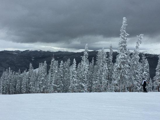 Keystone - Fantastic day skiing !!!  - ©MY iphone 6+