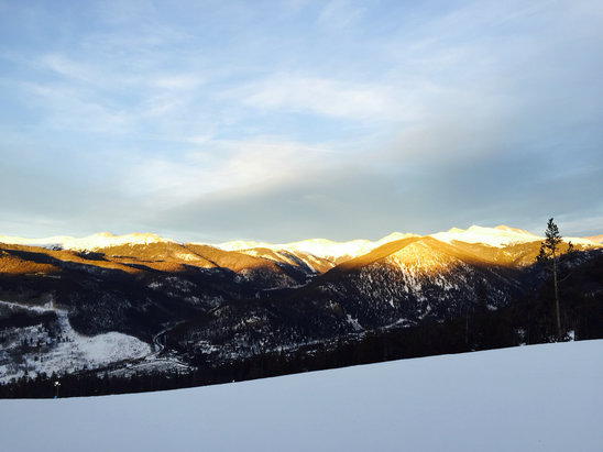 Keystone - Beautiful afternoon on the hill yesterday - ©Alex Kerkhoff's iPhone