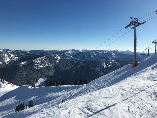 Crystal Mountain - Green valley was awesome yesterday. My first time on the gondola.  - ©Troy's iPhone