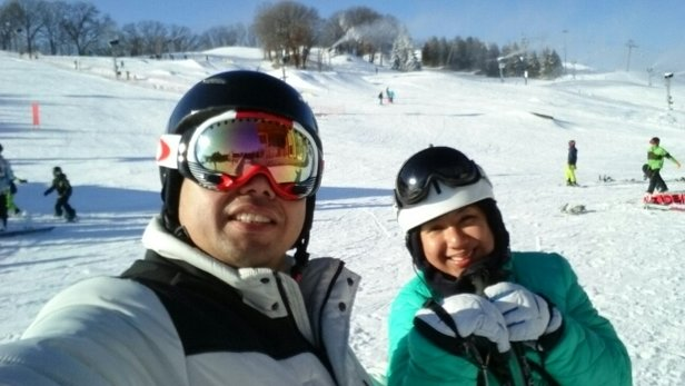 Hyland Ski & Snowboard Area - our first visit to this ski resort!  Awesome snow and amenities!  - ©jun.abayon