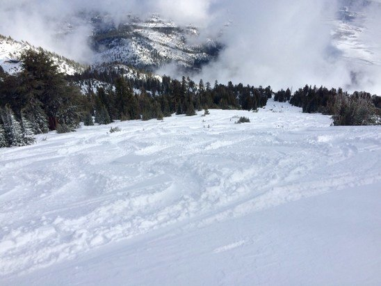 Mt. Rose - Ski Tahoe - Firsthand Ski Report - ©Jeremiah Nielson's iPhon