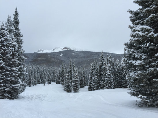 Purgatory - A great day for skiing fresh powder. - ©iPhone