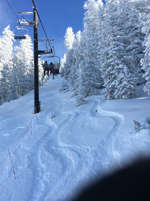 Arizona Snowbowl - One of those rare special days on the mntn - ©Dan's iPhone