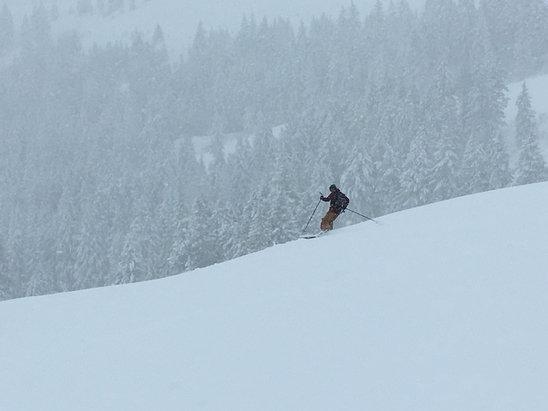 Soldier Mountain Ski Area - Firsthand Ski Report - ©Ricks i phone 6s