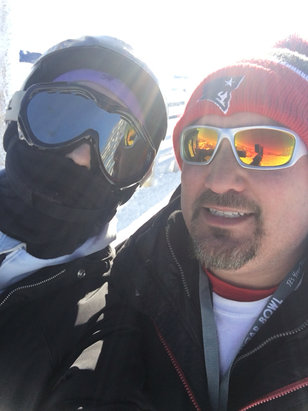 Sugar Bowl Resort - Firsthand Ski Report - ©Sis's ipad