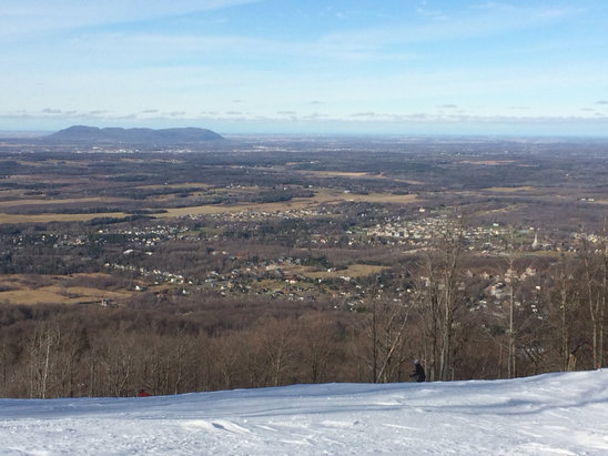 Ski Bromont - That was a great day  - ©iPhone