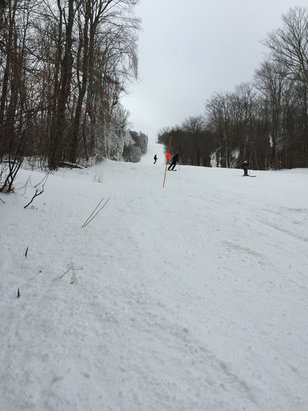 Belleayre - Sunday Funday out on Onteora today. Big thank you to the snow makers! - ©iPhone