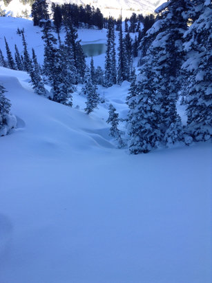 Snowbasin -  Best 2 inches yet. There's hope for this season after all. Smooth. - ©Raoul Funt