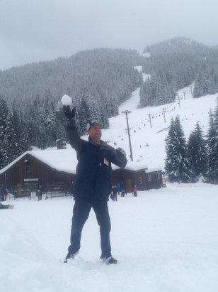 Mt. Hood Ski Bowl - 12/20/15 - ©sidney's i phone 4s