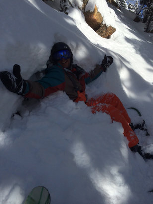 Beaver Creek - What happens when you didn't keep speed in the glades today. Epic - ©stashmaster