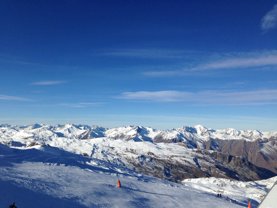 Val Thorens - Nice weather but missing fresh & more snow!! - ©mtheiss's iPhone