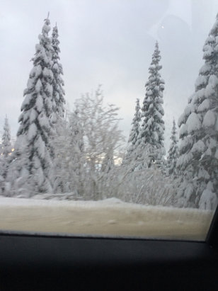 Mt. Spokane Ski and Snowboard Park - Firsthand Ski Report - ©Carson's iPhone