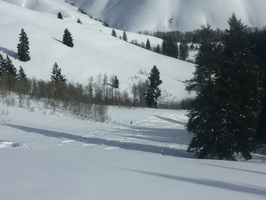 Soldier Mountain Ski Area - Firsthand Ski Report - ©Jan's  iPhone