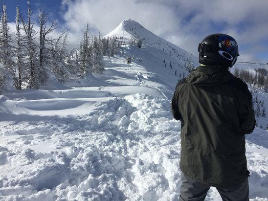 Wolf Creek Ski Area - Blower pow all day under blue bird skies  - ©Darin's iPhone
