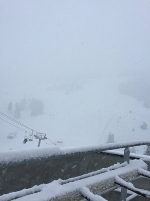 Thollon les Memises - Firsthand Ski Report - ©Clive's iPhone