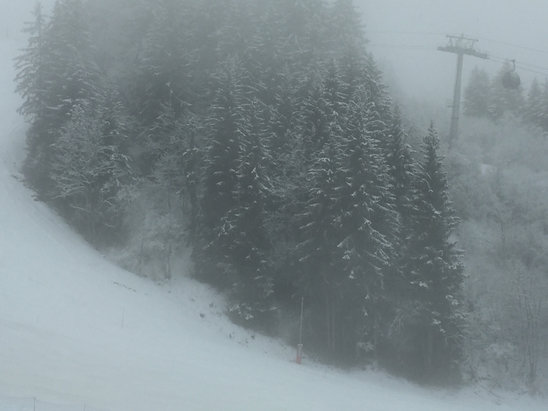 Valmorel - Snowing in Jan 2  - ©rpga's iPhone
