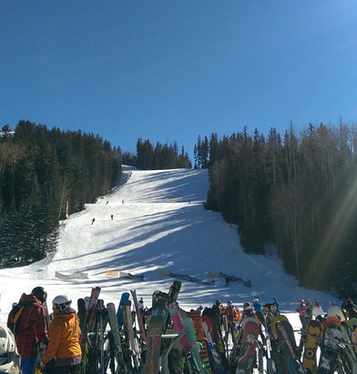 Arizona Snowbowl - Firsthand Ski Report - ©Jim's iPad