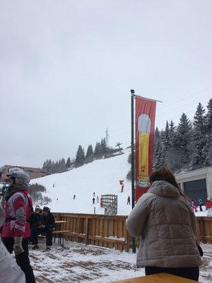Bad Hofgastein-Bad Gastein – Skischaukel Schlossalm-Angertal-Stubnerkogel - Neve fresca  - ©iPhone