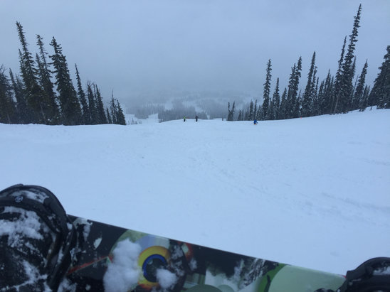 Kicking Horse - 5 cm of fresh pow.... Weeeeeee - ©Threadfast
