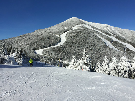 Whiteface Mountain Resort - Great conditions today. Snow is great and you can't beat the day.  - ©T-mans-iPhone