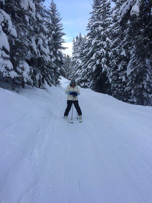 Les Carroz - Lovely skiing  - ©iPhone (5)