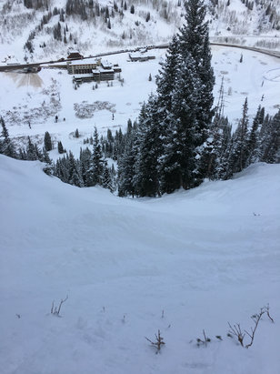 Alta Ski Area - Eagles Nest!  - ©Justin's iPhone